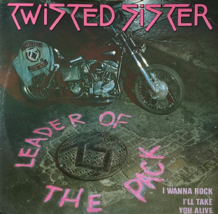 "Twisted Sister ‎- Leader Of The Pack (12"") (G++/VG)"